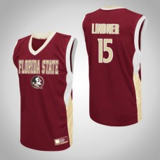 Florida State Seminoles #15 Justin Lindner Red College Basketball Jersey