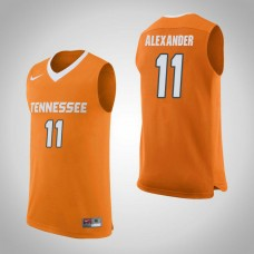 Tennessee Volunteers #11 Kyle Alexander Orange College Basketball Jersey