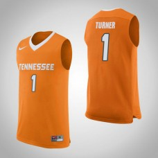 Tennessee Volunteers #1 Lamonte Turner Orange College Basketball Jersey