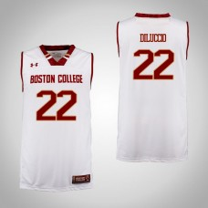 Boston College Eagles #22 Matt DiLuccio Cardinal College Basketball Jersey