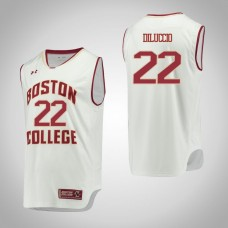 Boston College Eagles #22 Matt DiLuccio White College Basketball Jersey