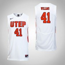 UTEP Miners #41 Matt Willms White College Basketball Jersey