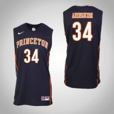 Princeton Tigers #34 Richmond Aririguzoh Black College Basketball Jersey