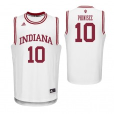 Indiana Hoosiers #10 Rob Phinisee White College Basketball Jersey