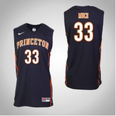 Princeton Tigers #33 Sebastian Much Black College Basketball Jersey