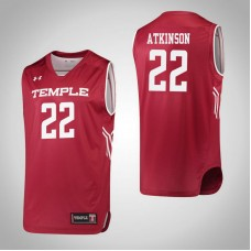 Temple Owls #22 Tanaya Atkinson Red College Basketball Jersey