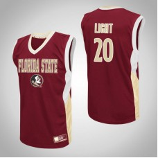 Florida State Seminoles #20 Travis Light Red College Basketball Jersey