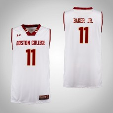 Boston College Eagles #11 Vin Baker Jr. Cardinal College Basketball Jersey