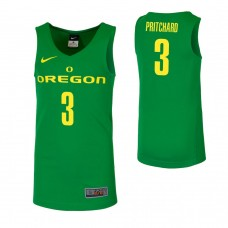 Oregon Ducks #3 Payton Pritchard Green College Basketball Jersey