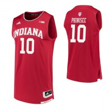 Indiana Hoosiers #10 Rob Phinisee Crimson College Basketball Jersey