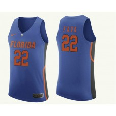 Florida Gators Andrew Fava Authentic Royal Jersey