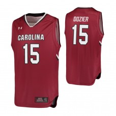 South Carolina Gamecocks #15 P.J. Dozier Garnet Jersey