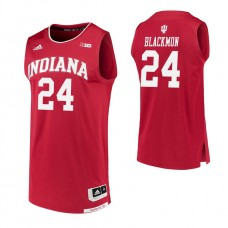 Indiana Hoosiers #24 Vijay Blackmon Crimson College Basketball Jersey