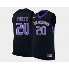 Washington Huskies #20 Markelle Fultz Black Alternate College Basketball Jersey