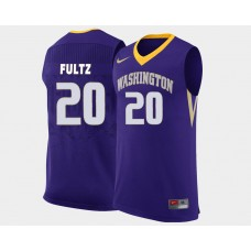 Washington Huskies #20 Markelle Fultz Purple Road College Basketball Jersey