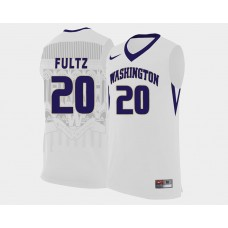 Washington Huskies #20 Markelle Fultz White College Basketball Jersey