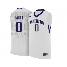 Washington Huskies Bitumba Baruti Home white Jersey