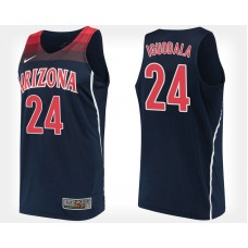 Arizona Wildcats Allonzo Trier Authentic Red Jersey