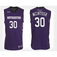 Northwestern Wildcats #30 Bryant McIntosh Purple Home College Basketball Jersey