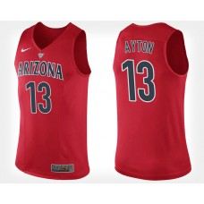 Arizona Wildcats #13 Deandre Ayton Red Home College Basketball Jersey