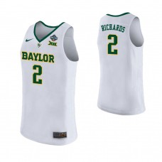 Women's Baylor Bears #2 DiDi Richards White 2019 Championship College Basketball Jersey