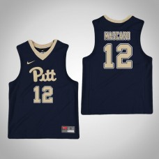 Youth Navy Pittsburgh Panthers #12 Joe Mascaro Jersey