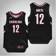 Youth Black South Carolina Gamecocks #12 Khadim Gueye Jersey