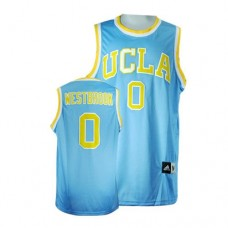 UCLA Bruins #0 Russell Westbrook Blue Replica College Basketball Jersey