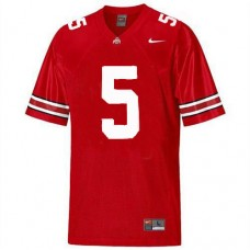 Kid's Ohio State Buckeyes #5 Braxton Miller Red Replica College Football Jersey