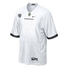 Oregon Ducks Blank White Replica College Football Jersey