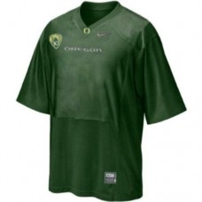 Oregon Ducks Blank Green Authentic College Football Jersey