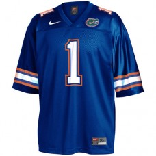 Florida Gators #1 Obama Blue Authentic College Football Jersey