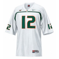Miami Hurricanes #12 Jacory Harris Green Authentic College Football Jersey