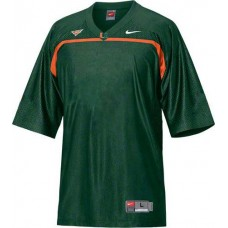 Miami Hurricanes Blank Green Replica College Football Jersey
