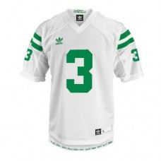 Kid's Notre Dame Fighting Irish #3 Joe Montana White Under The Lights Replica College Football Jersey