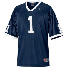 Penn State Nittany Lions #1 Joe Paterno Navy Blue Coach Replica College Football Jersey
