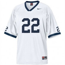 Penn State Nittany Lions #22 T.J. Rhattigan White Authentic College Football Jersey
