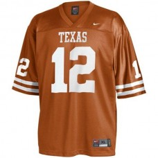 Texas Longhorns #12 Colt McCoy Orange Authentic College Football Jersey