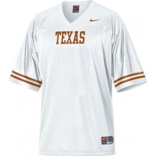 Texas Longhorns Blank White Authentic College Football Jersey