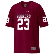 Oklahoma Sooners #23 Allen Patrick Red Authentic College Football Jersey