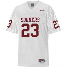 Oklahoma Sooners #23 Allen Patrick White Authentic College Football Jersey