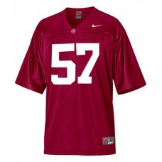Alabama Crimson Tide #57 Marcell Dareus Red Authentic College Football Jersey