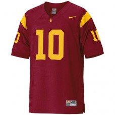 USC Trojans #10 Brian Cushing Red Authentic College Football Jersey