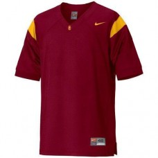 USC Trojans Blank Red Replica College Football Jersey
