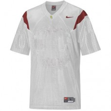 USC Trojans Blank White Replica College Football Jersey