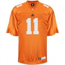 Tennessee Vols #11 Justin Hunter Orange Authentic College Football Jersey