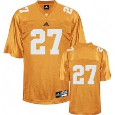 Tennessee Vols #27 Arian Foster Orange Authentic College Football Jersey