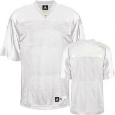 Tennessee Vols Blank White Replica College Football Jersey