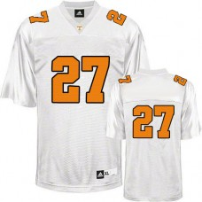 Tennessee Vols #27 Arian Foster White Authentic College Football Jersey