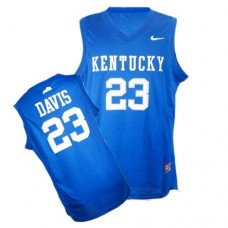 Kentucky Wildcats #23 Anthony Davis Royal Blue Replica College Basketball Jersey
